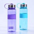 maravilloso de la moda de plástico botella de agua de té del filtro de la botella con colador