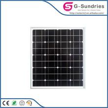 High power high quality long life high efficiency130w monocrystalline solar panel