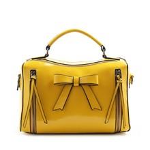 Fashion flower accessory PU lady bag china handbag