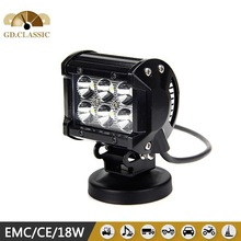 4 Inch 18W LED Work Light Bar for Indicators Motorcycle Driving Offroad Boat Car Tractor Truck 4x4 SUV ATV Flood 12V