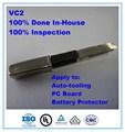 VC2 alta normalmente cerrado arrastramiento Acción bimetálico interruptor térmico Termostato para Batería Protector