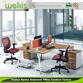 melhor preço estilo moderno mesa de escritório padrão de altura