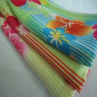 UPF 50+ nylon lycra 4 way stretch print bikini fabric