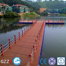 slip resistant surface pontoon float for boat