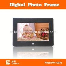 "hot sale gif digital sex photo frame 7"" dpf-7012"
