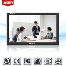 2015 hot selling lcd vga portable cctv test monitor