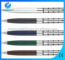 classic click type metal twist ball pen ,advertising metal pen