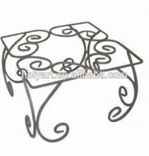 hot sale metal flower pot rack