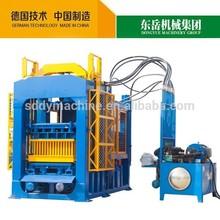 QT6-15B hydraulic press brick making machine and concrete block machine china manufacturer