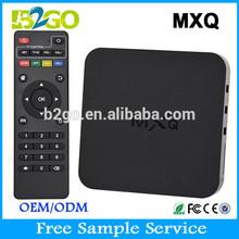 newest MXQ xbmc 13.2 quad core hdmi external hdd media player