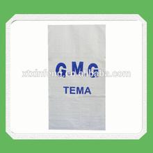 pp woven sugar sacks , 50kg laminated plastic sacks woven plastic sugar bags for sale