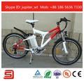 Elegante deportivo de la suspensión completa de la bicicleta eléctrica jse76-f
