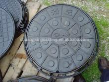 nodular cast iron anti-theft manhole covers beauty firm exported to Korea security manhole covers sizes