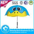 shaoxing bsci fábrica barata seguro atractivo de la estructura de la marca barata de alta calidad chicas superpoderosas clara paraguas de los niños