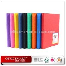 environmental paper 2D ring binder