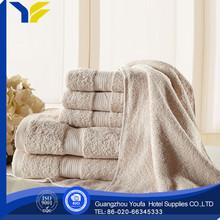 plain dyed hot sale 100% organic cotton popular organic cotton cut velvet yoga towel