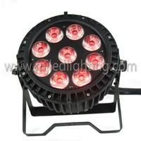 Guangzhou wholesale market IP65 9x10w RGBW led waterproof par can