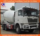 8cbm Shacman F3000 Concrete Mixer Truck 10Wheel Shacman mixer truck concrete Shacman 6*4 concrete Mixing truck