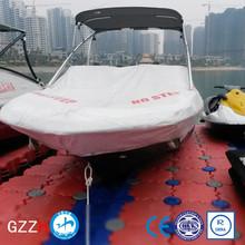 puncture resistant deck plastic jet ski floating dock pontoon