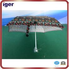 sun and rain aluminum hanging umbrella