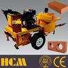 clay brick making machine/mud brick making machine for algerie named M7MI