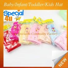 cute baby cap Kids hats Cotton Beanie Infant felt cap with the ears CLBH-101