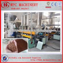 wpc pe compound machine /wpc pe pelletizing machine