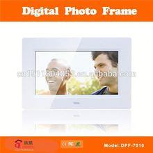"vintage digital photo frame 7"" dpf-7012"