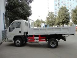 Foton forland mini dump trucks 4x2 small light duty dump trucks