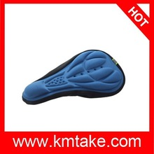 hot selling 3D Silicone Lycra Nylon & Gel Pad Bicycle Seat Saddle Cover