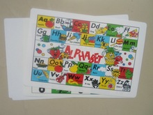 pp baby alphabet learning table mat, dining mat