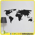 Wsp001265, pvc decalque e adesivos, adesivo de parede mapa do mundo
