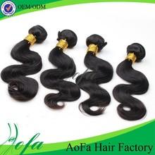 Human hair extensions Guangzhou brazilian virgin hair loose wave