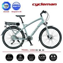 mid motor / crank motor / centre motor powered bike