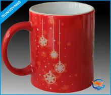 11oz hot sale factory custom ceramic coffee mug,Christmas mug