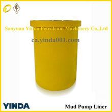 API & reasonable price oil drilling cylinder liner /bi-metal mud pump liner/ceramic mud pump liner for national N-1300mud pump