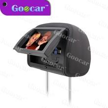 Universal portable 9 car pillow headrest monitor dvd player