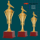 factory fine quality custom gold metal trophy manufacturer from china