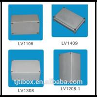 2015 high quality custom make precision aluminium enclosure distribution box housing