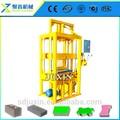 Pequena máquina big business / bloqueio blocos de concreto tamanhos C25