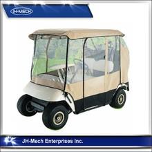 """Deluxe 2 Passenger Golf Cart Rain Cover roof 80""""L Black"""