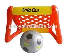 inflatable mini soccer football goal for kids