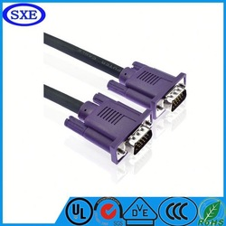 2015 hot sale db9 to vga cable vga for laptop projector on Alibaba