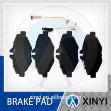 Brake pad in peugeot