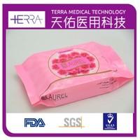 OEM feminine antibacterial wipes for disinfecting Feminine antibacterial wipes,after sex wet wipe