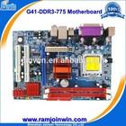 Desktop socket g41 775 motherboard support p4 pci/ ddr3