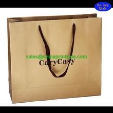 2015 hot searching famous brand paper bag in Guangzhou