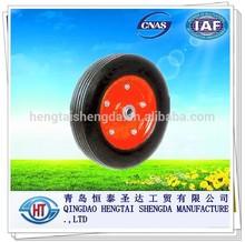 "solid wheel for wheelbarrow tyre 14X4"""