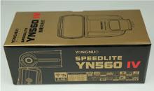 Yongnuo YN-560IV Flash Speedlite Master + Slave Flash + Built-in Trigger System