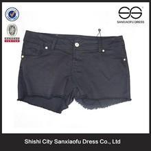 Mujer pantalones cortos, pantalones cortos de jean para la señora
